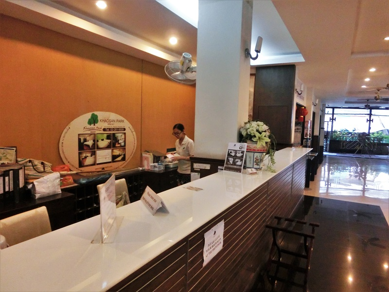 カオサン パーク ホテル(Khaosan Park Hotel)受付