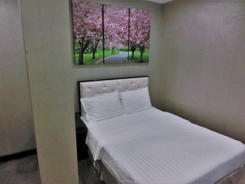 サクラ スカイ レジデンス(Sakura Sky Residence)客室ベッド