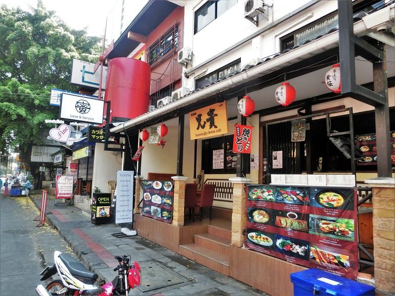 スクンビットソイ33の日本食料理店と風俗