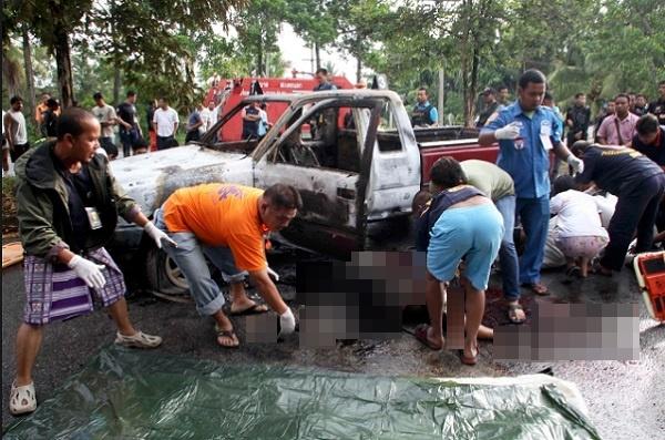 タイ南部パッタニー県のテロ