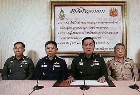 プラユット司令官(現タイ首相)
